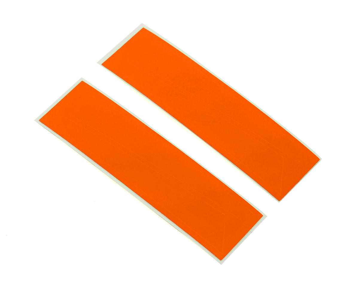 Vertical Fin Sticker (Orange) by OXY Heli