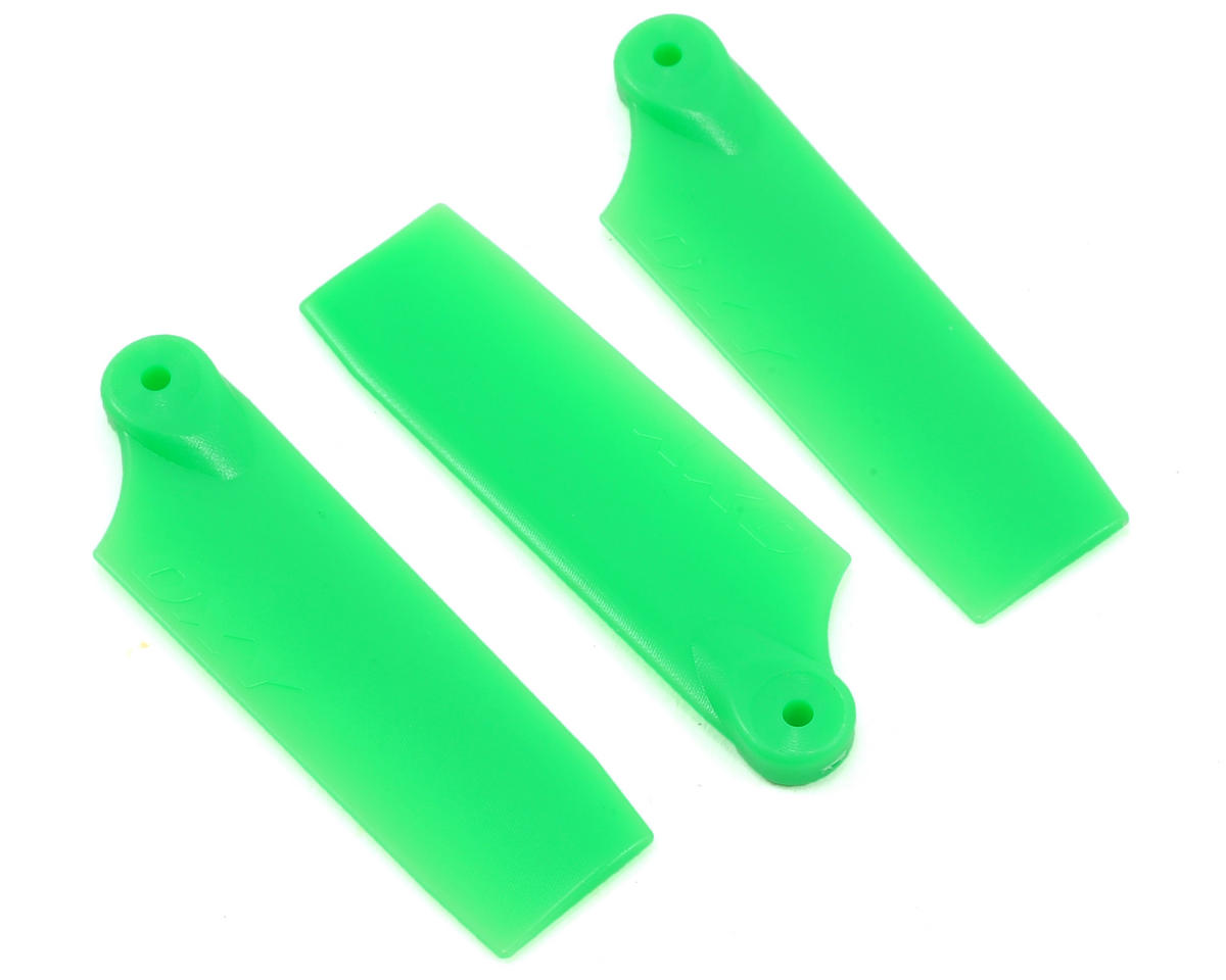 OXY Heli Oxy 3 47mm 3-Blade Tail Blade Set (Green)
