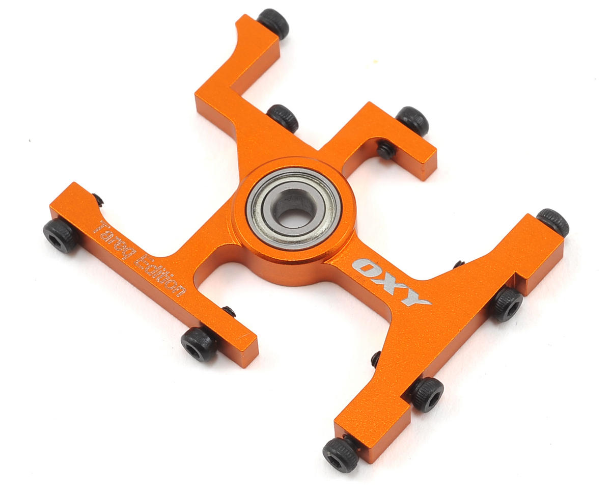 OXY Heli Oxy 3 Tareq Edition Upper Main Shaft Bearing Block (Orange)