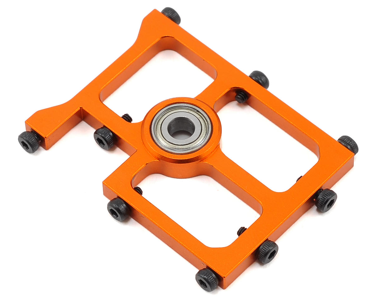 OXY Heli Oxy 3 Tareq Edition Middle Main Shaft Bearing Block (Orange)