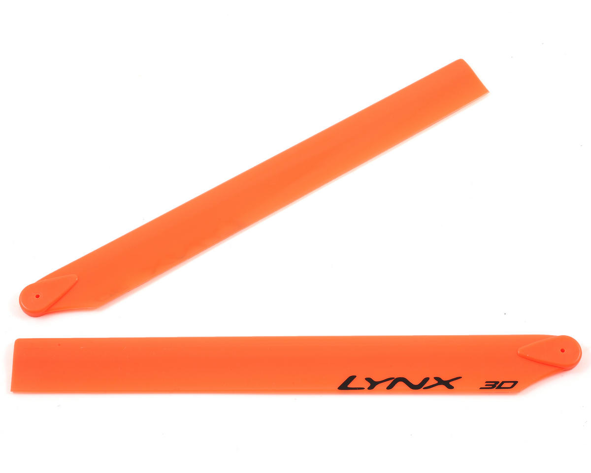 250mm Plastic Main Blade (Orange) by OXY Heli (Oxy 3)