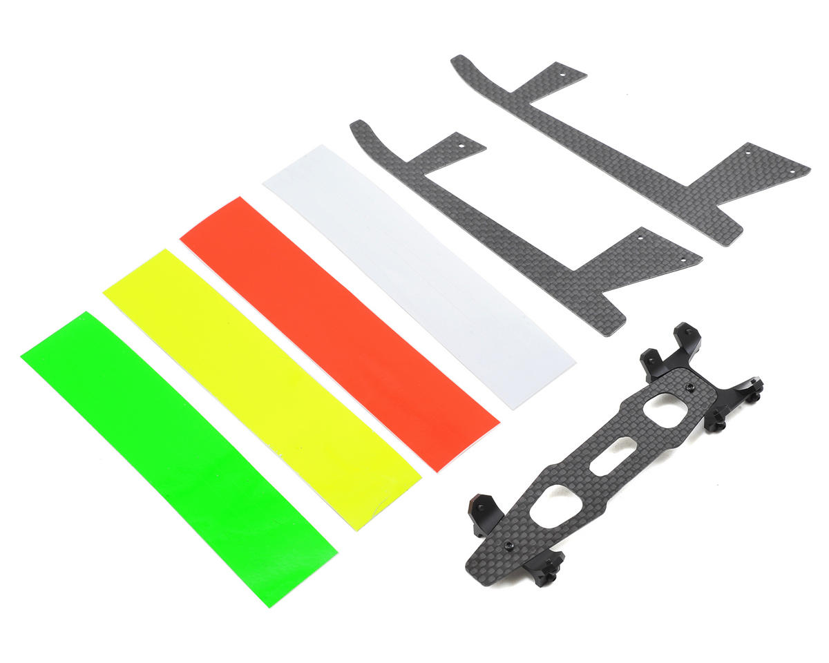 OXY Heli Oxy 3 Tareq Edition Aluminum Landing Gear Set V2 (Black)