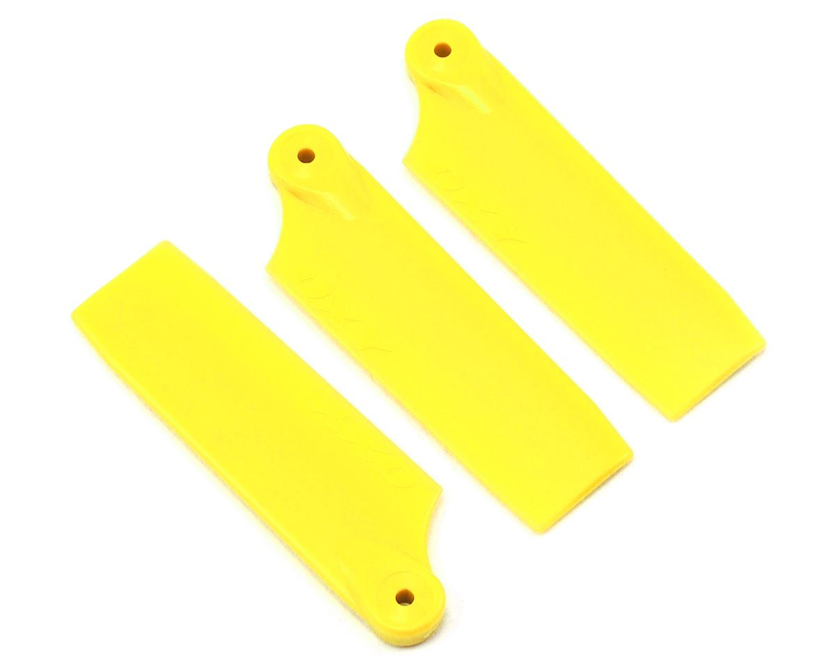 Oxy Heli Tail Blade 50mm (3) (Yellow) by OXY Heli