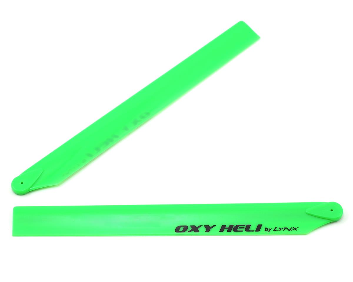 Oxy Heli 250mm Plastic Main Blade (Green) by OXY Heli