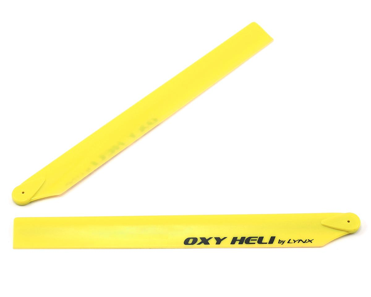 OXY Heli Oxy Heli 250mm Plastic Main Blade (Yellow)
