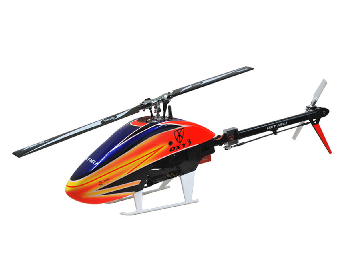 Oxy 3 Flybarless Electric Helicopter Kit by OXY Heli