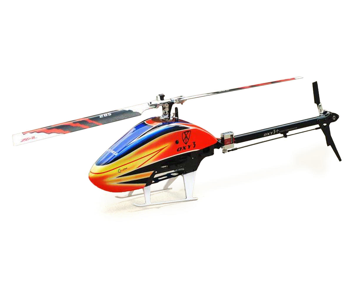 "Oxy 3 ""Stretch"" Flybarless Electric Helicopter Kit"