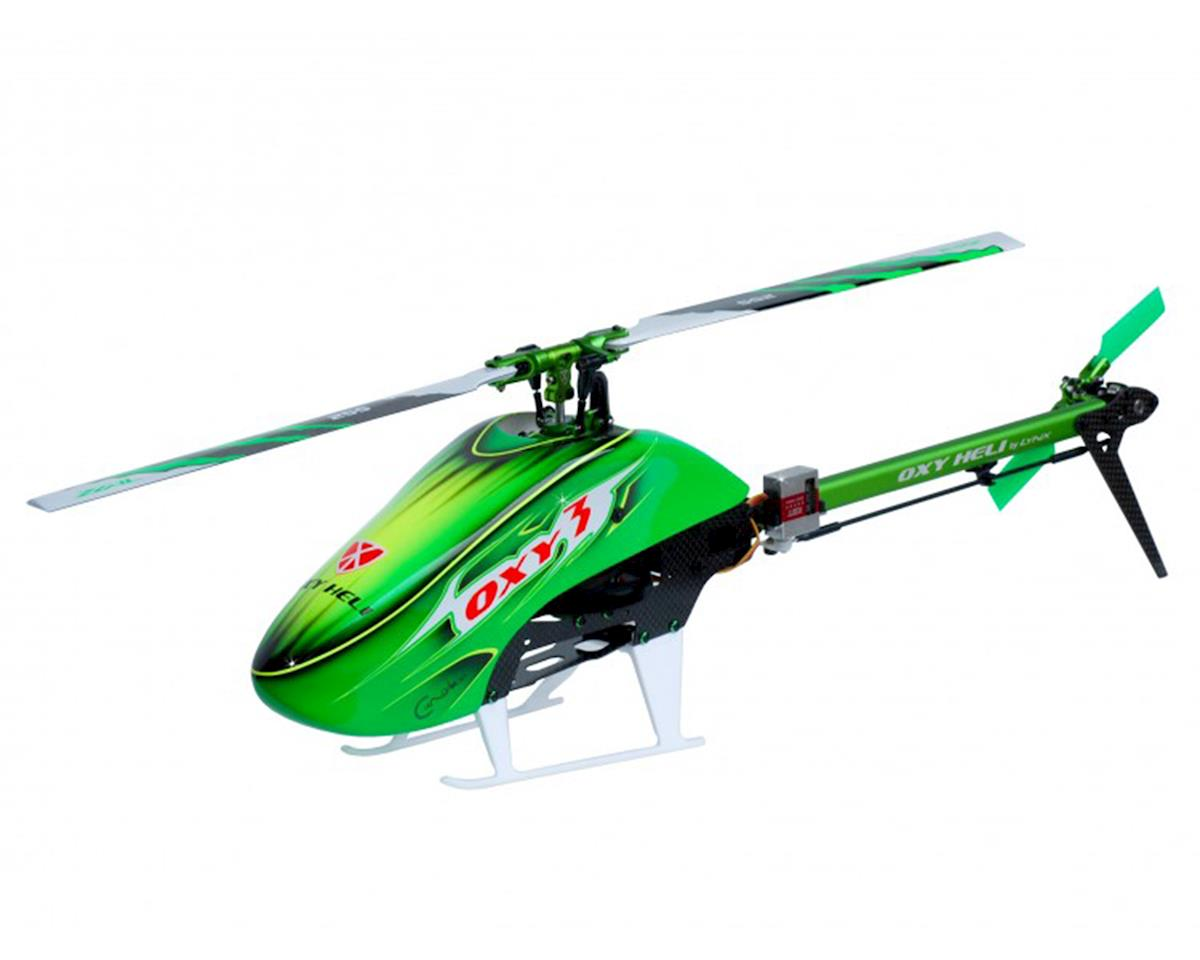 "OXY Heli Oxy 3 ""GL"" Flybarless Electric Helicopter Kit"