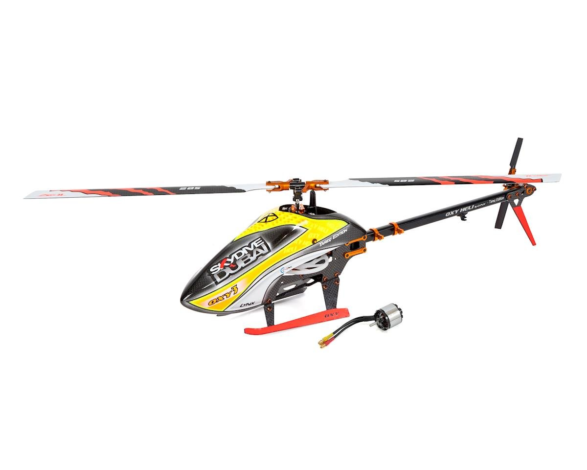 OXY Heli OXY 3 Tareq Edition Electric Helicopter Kit & Lynx 2214-4100 Combo