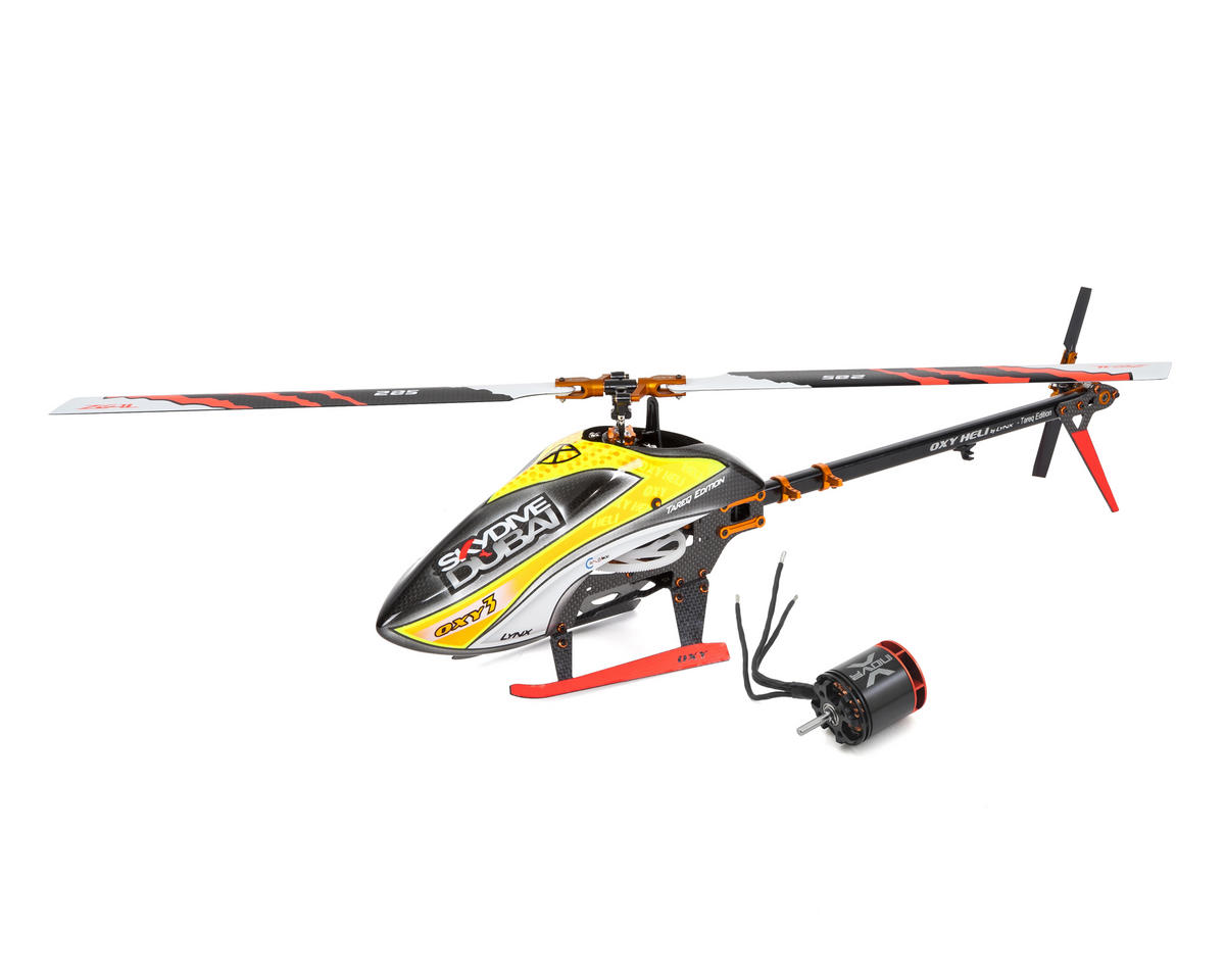 OXY 3 Tareq Edition Electric Helicopter Kit & Xnova XTS2216-4100 Combo by OXY Heli