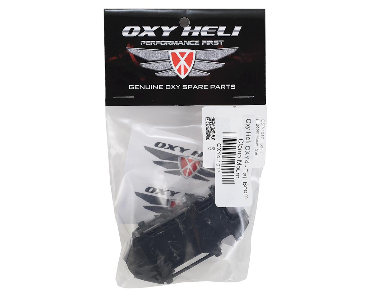 OXY Heli Tail Boom Clamp Mount (Oxy 4)