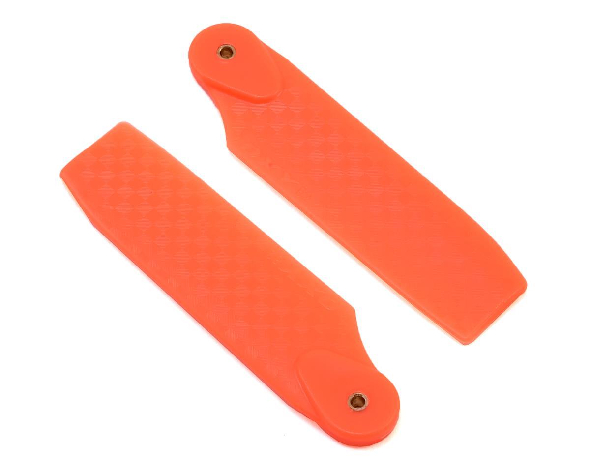 62mm Tail Blade (Orange) (Oxy 4) by OXY Heli