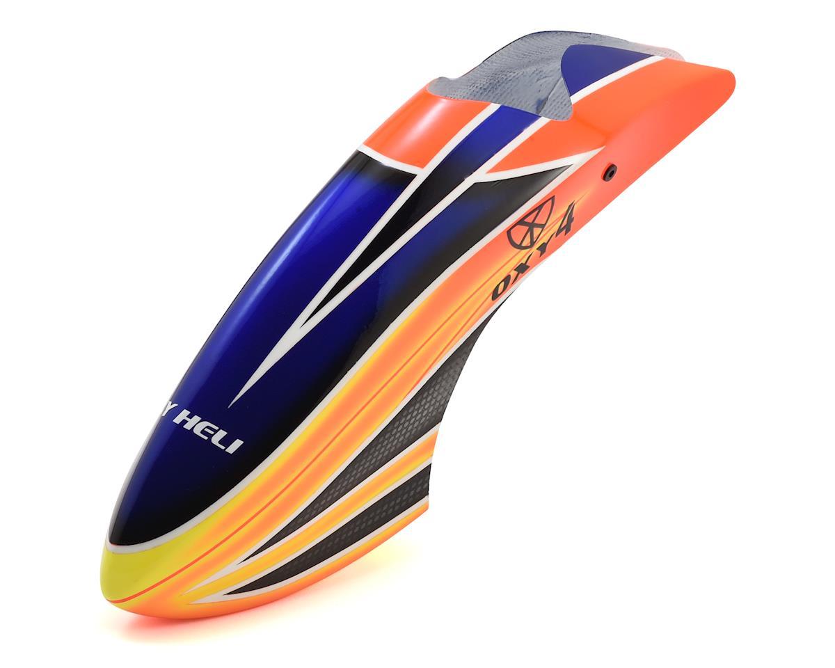 OXY Heli Canopy (Oxy 4) (Orange/Yellow/Blue)