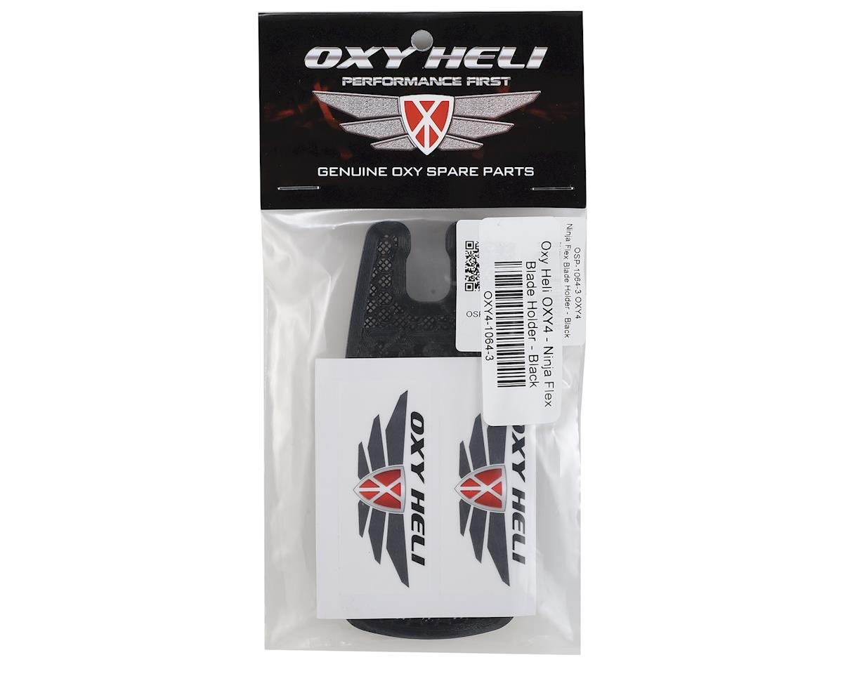 OXY Heli Ninja Flex Blade Holder (Black) (Oxy 4)