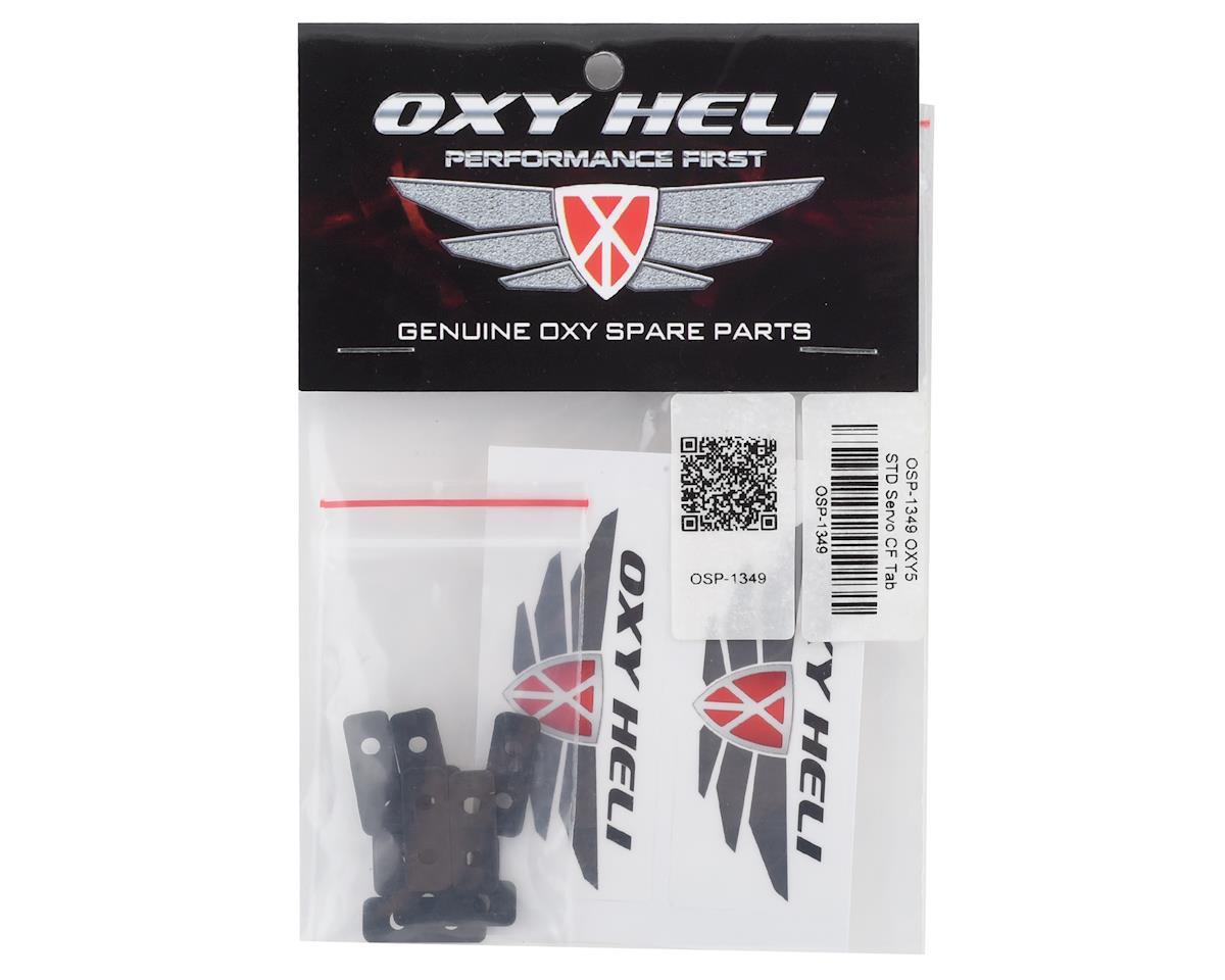OXY Heli Standard Servo Carbon Fiber Tabs (10)