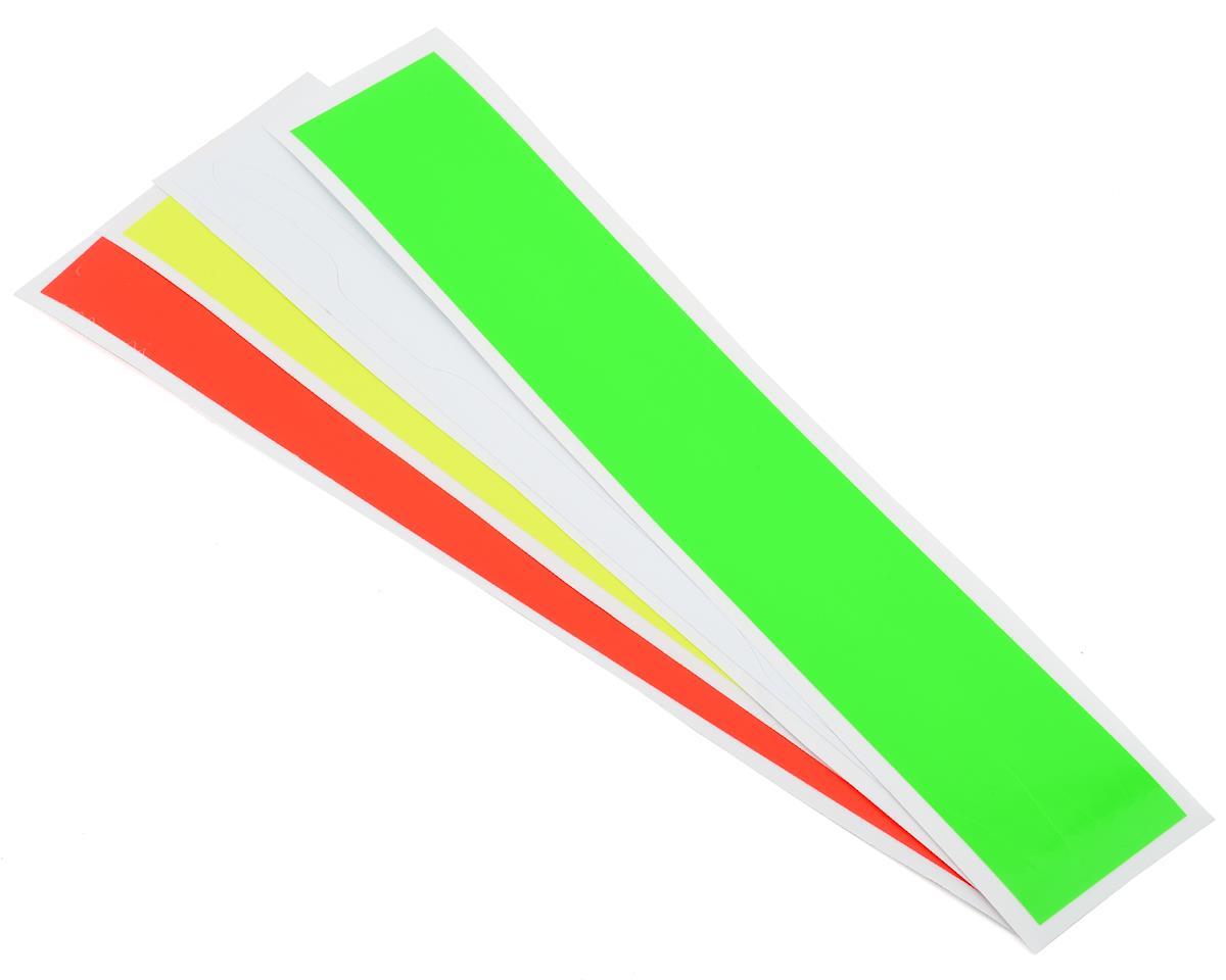 OXY Heli Landing Gear Sticker Set (Green, White, Yellow, Orange)