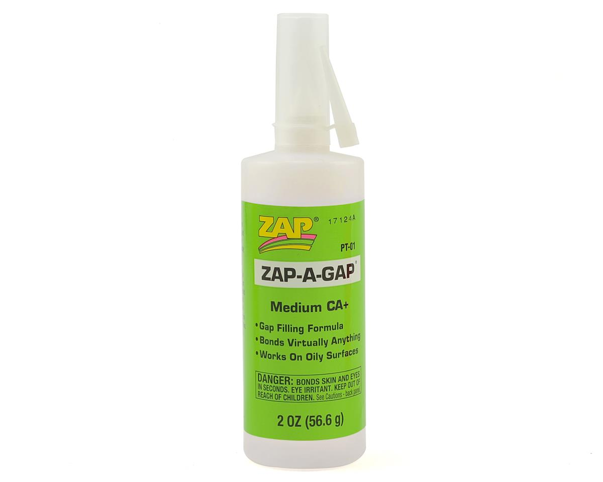 Zap-A-Gap CA+ Glue (Medium) (2oz) by Pacer Technology