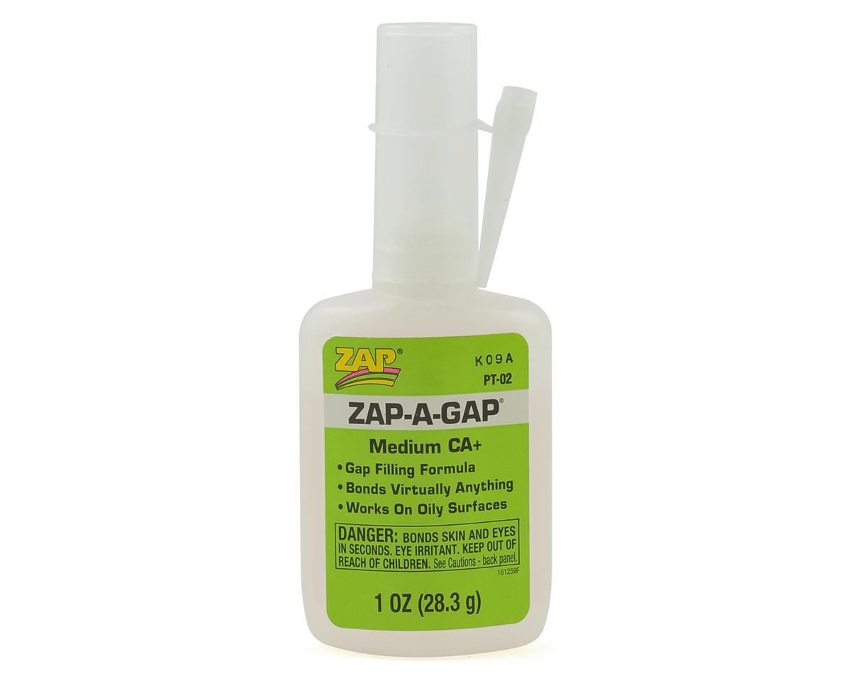 Zap-A-Gap CA+ Glue (Medium) (1oz) by Pacer Technology