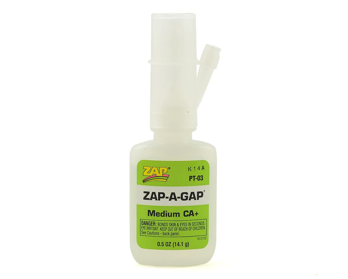 Zap-A-Gap CA+ Glue (Medium) (0.5oz) by Pacer Technology