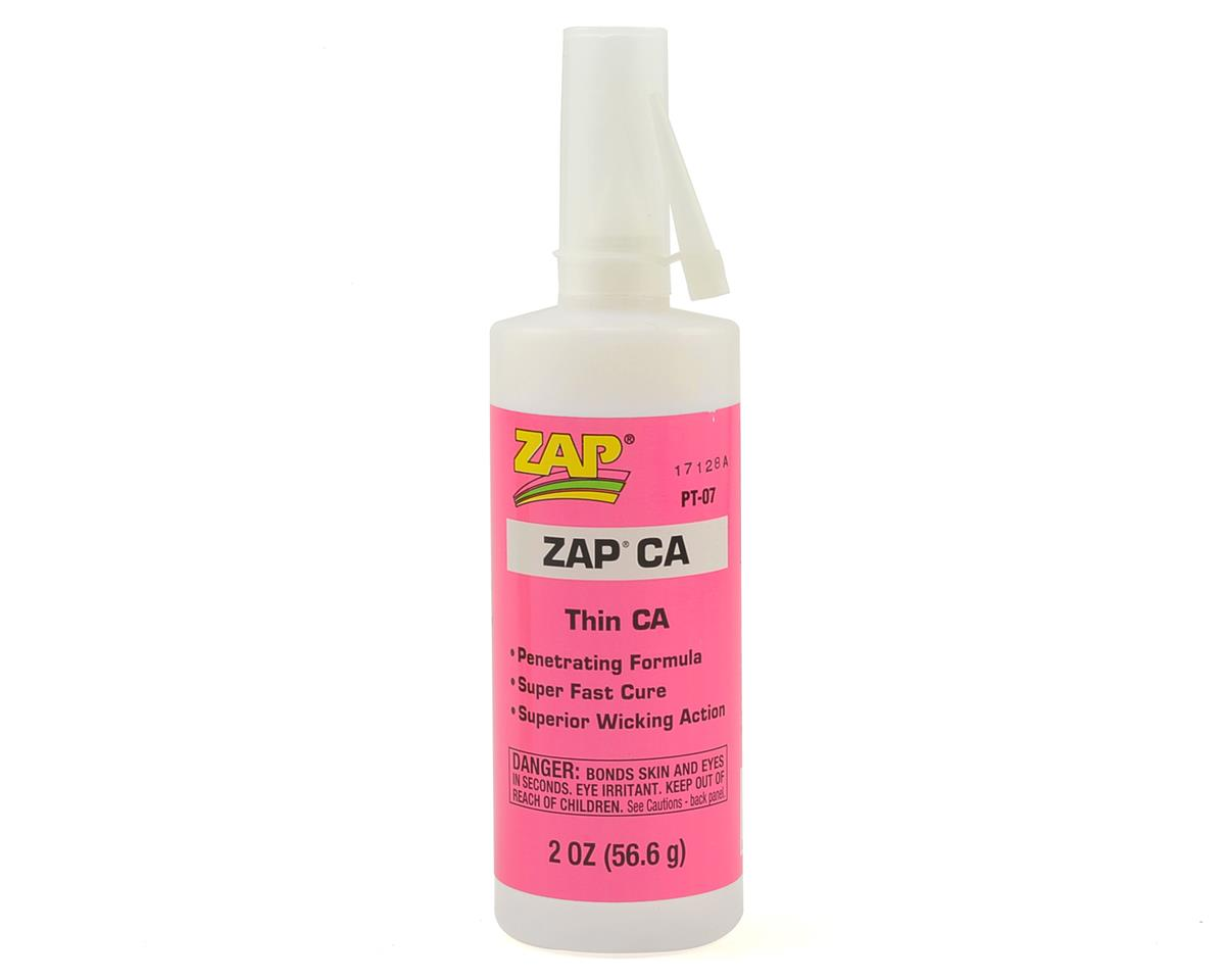Zap CA Glue (Thin) (2oz) by Pacer Technology
