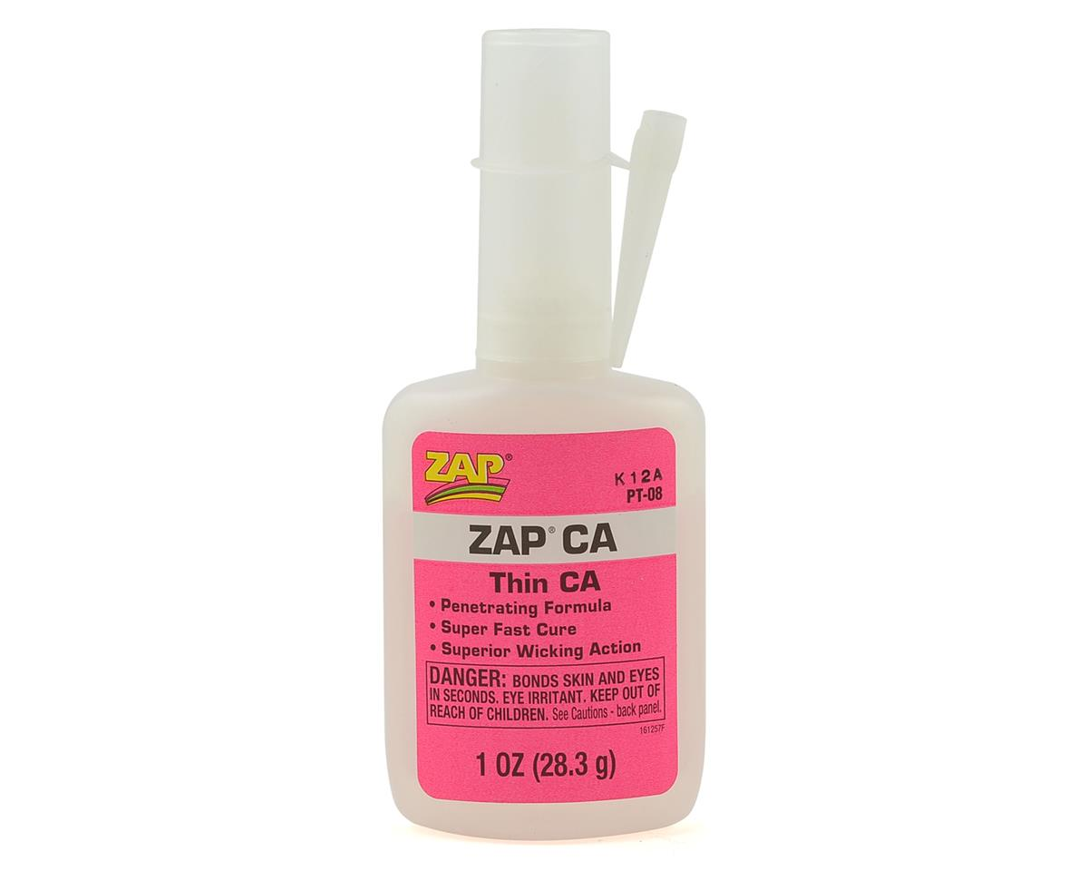 Zap CA Glue (Thin) (1oz) by Pacer Technology