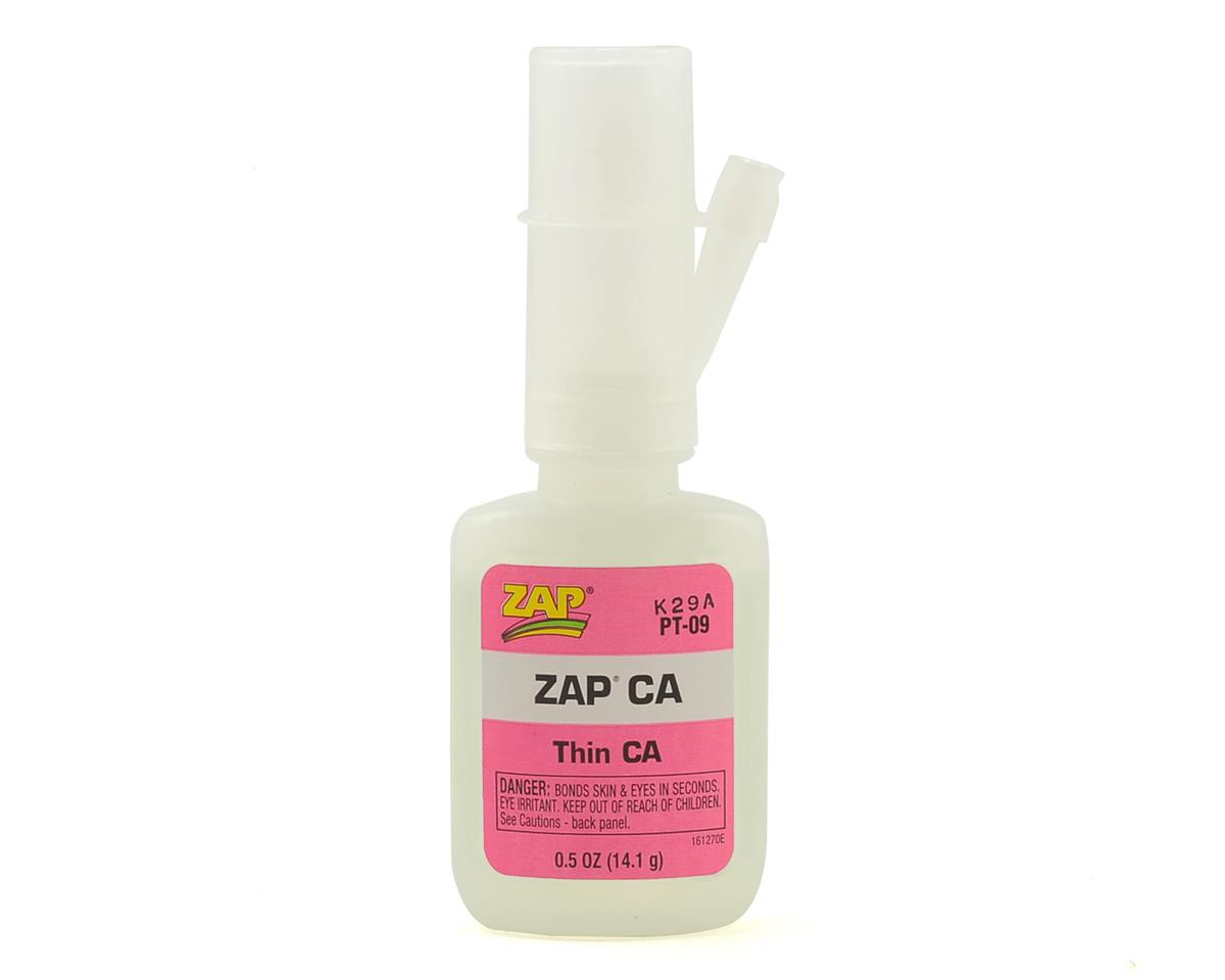 Zap CA Glue (Thin) (0.5oz) by Pacer Technology