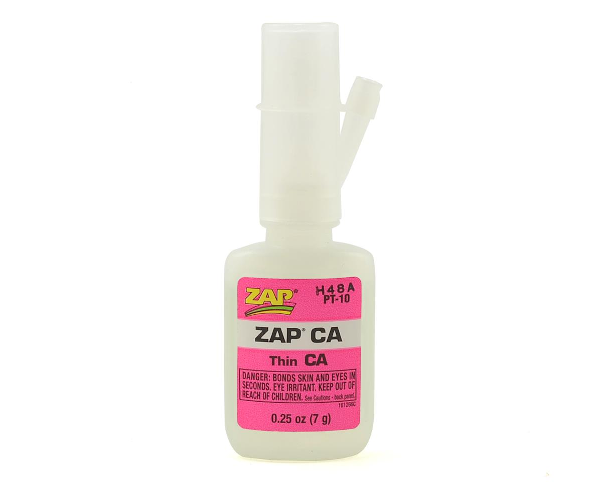 Zap CA Glue (Thin) (0.25oz) by Pacer Technology
