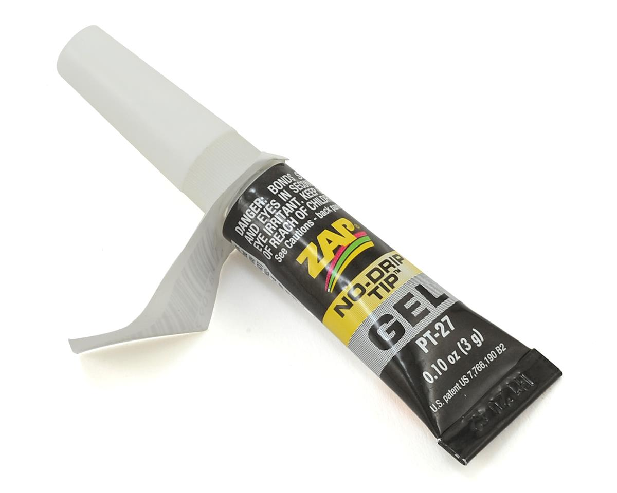Zap Gel Glue Tube (3g) by Pacer Technology