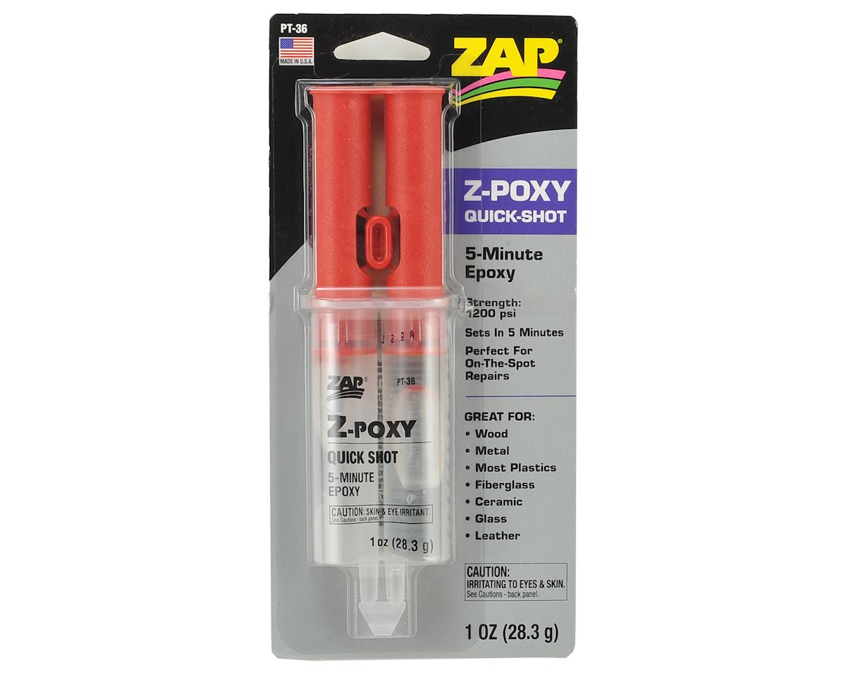 Z-Poxy 5 Minute Quick Shot (1oz) by Pacer Technology