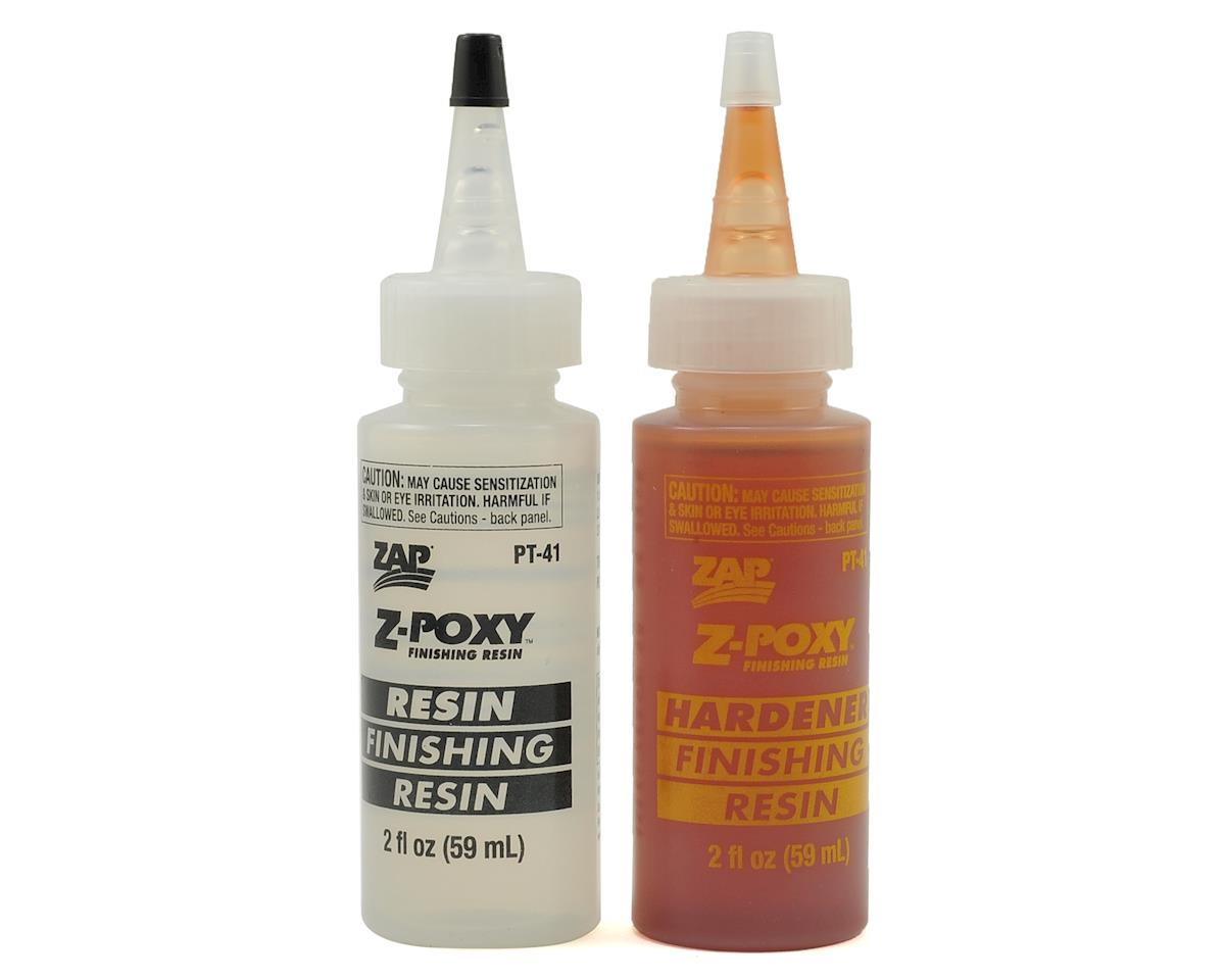 Zap Finishing Resin (4oz) by Pacer Technology