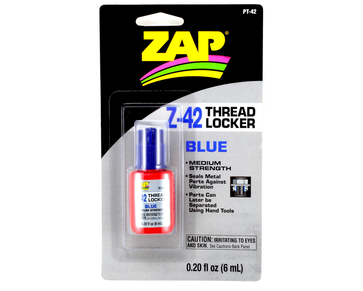 Pacer Technology Z-42 Blue Thread Locker (0.20oz)