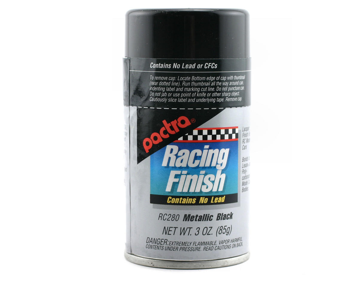 Pactra Metallic Black Spray Paint (3oz)