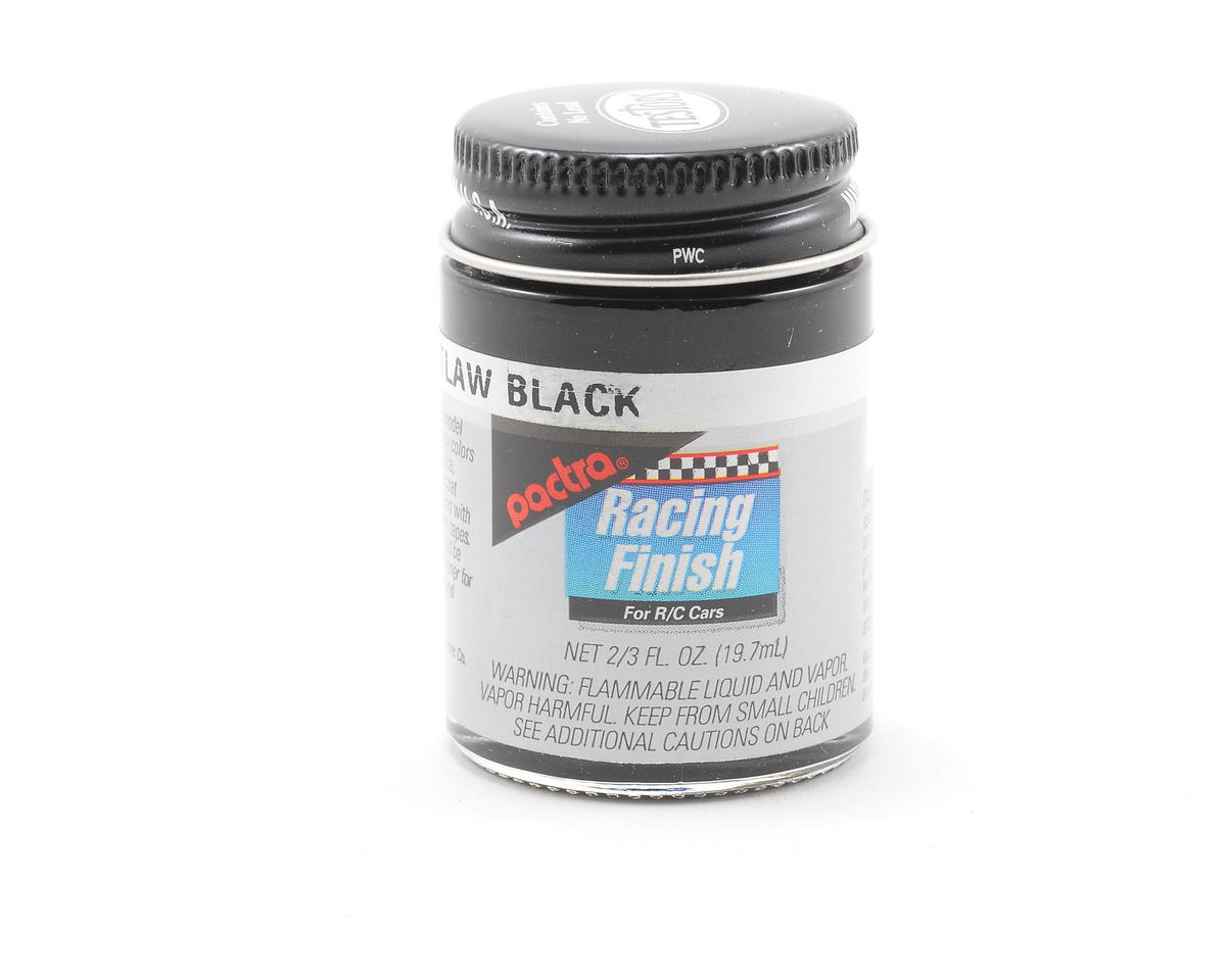 Pactra Outlaw Black Paint (2/3oz)