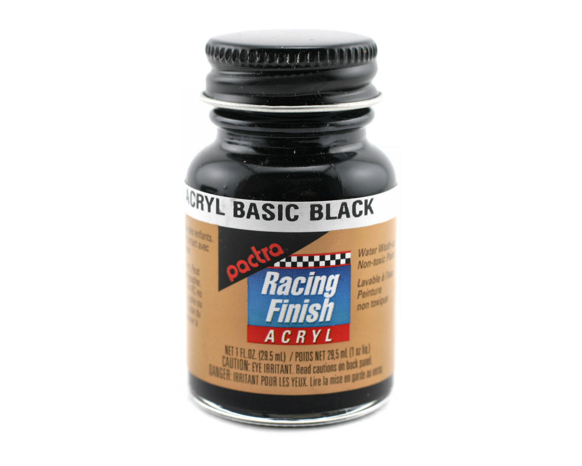 Pactra Black Acrylic Paint (1oz)