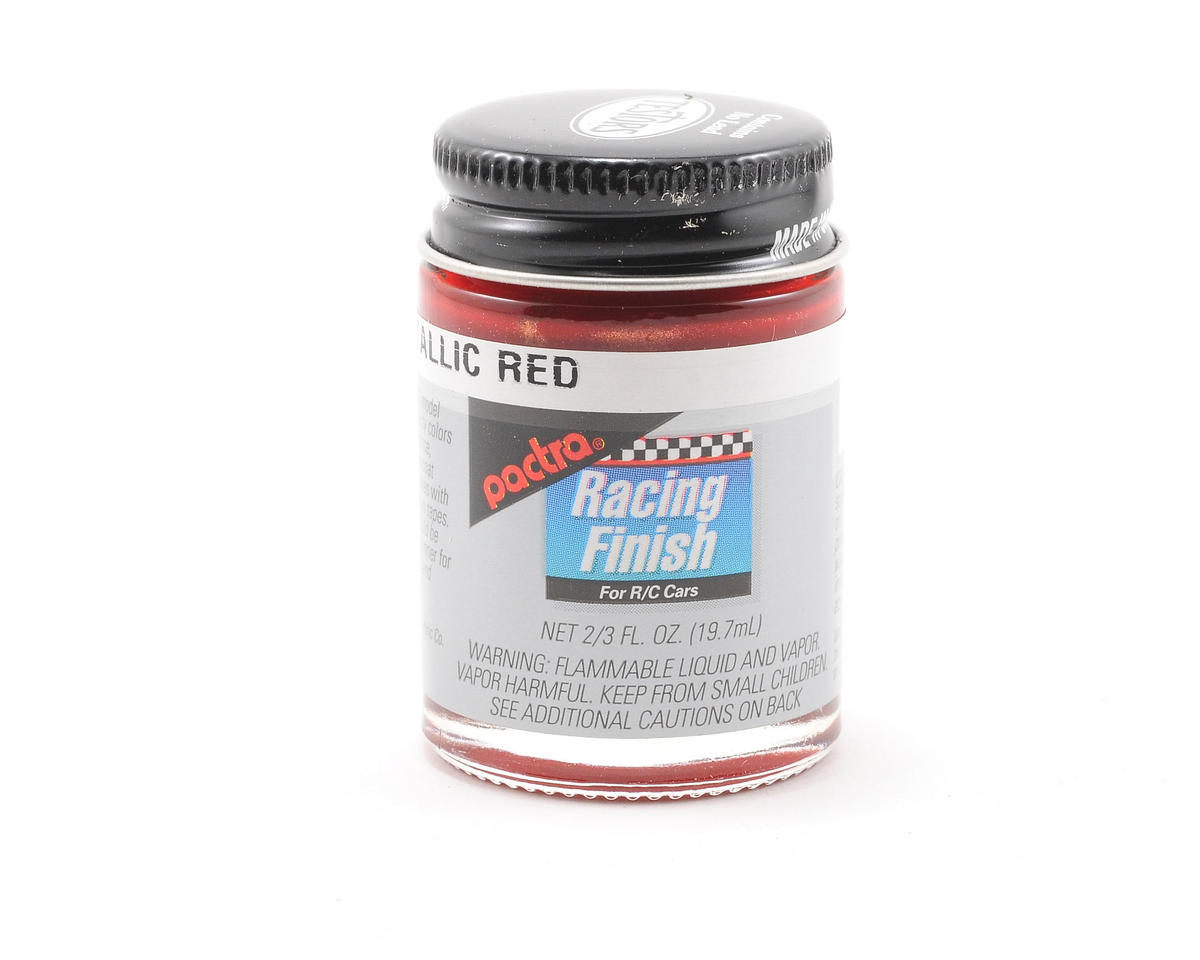 Pactra Metallic Red Paint (2/3oz)