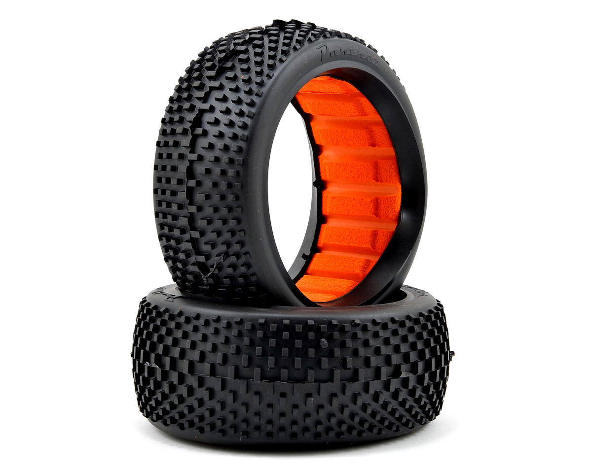 Boa 1/8 Buggy Tires (2) (Super Soft) by Panther