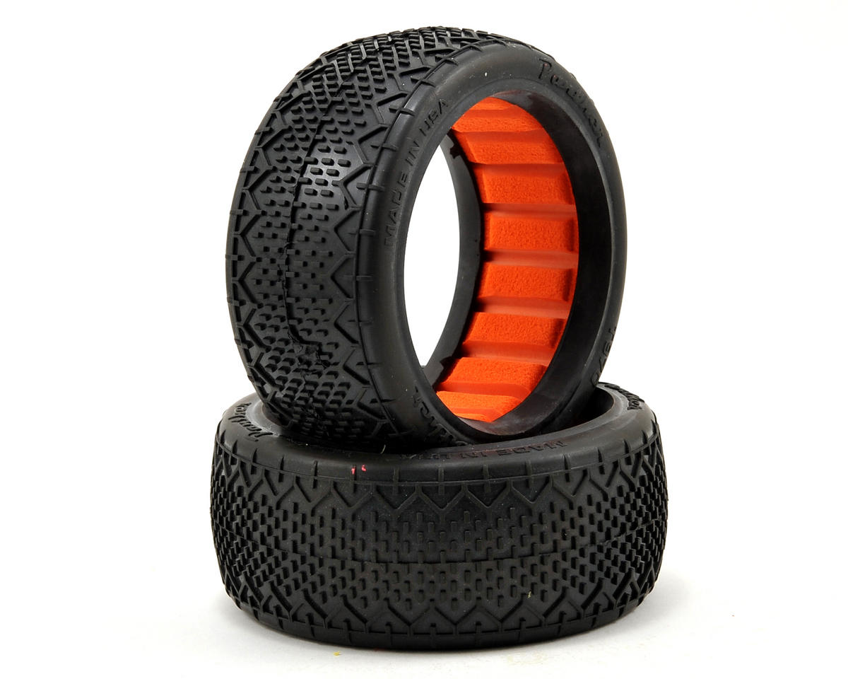 Panther Rattler 1/8 Buggy Tires (2) (Clay)