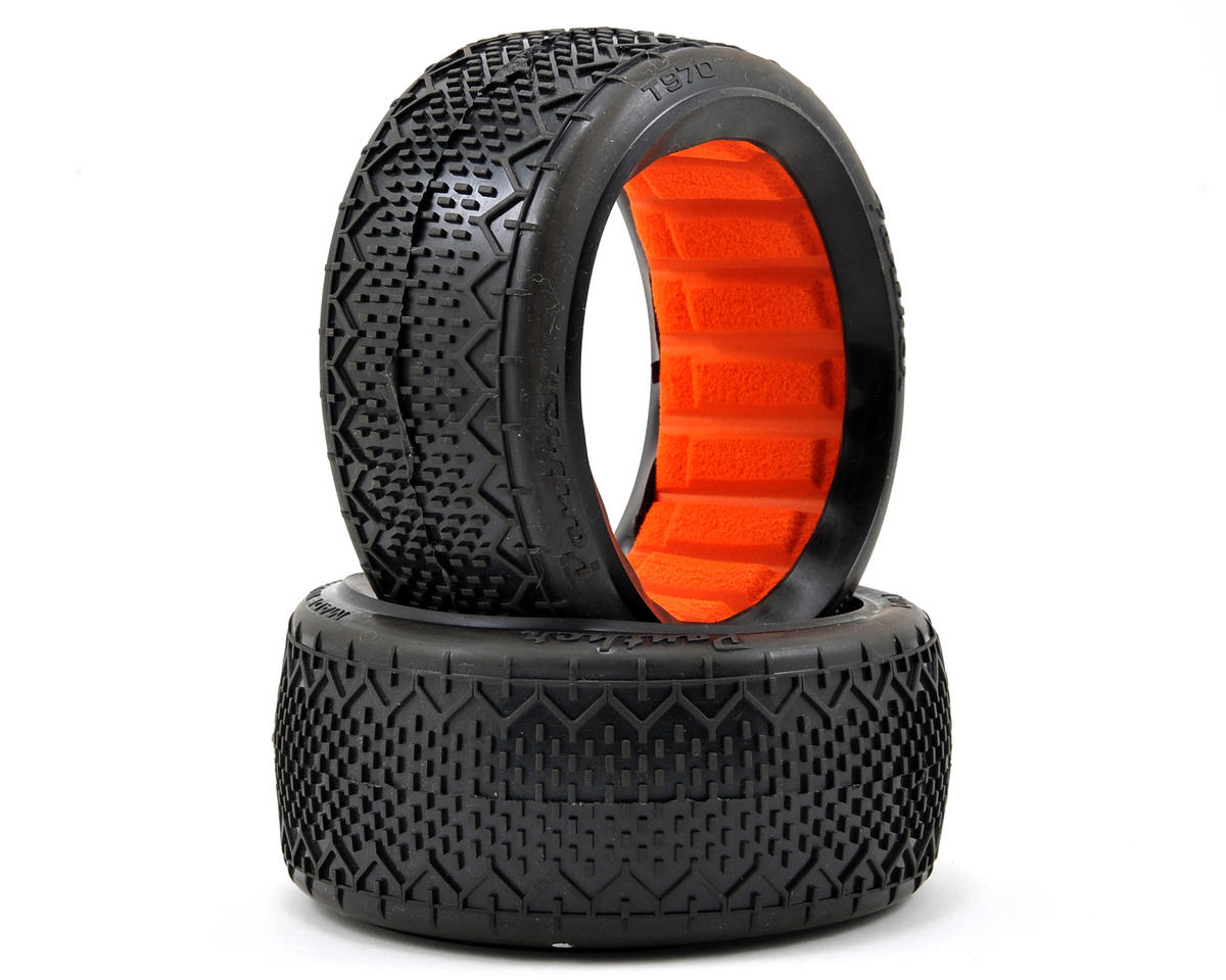 Rattler 1/8 Buggy Tires (2) (Super Soft) by Panther