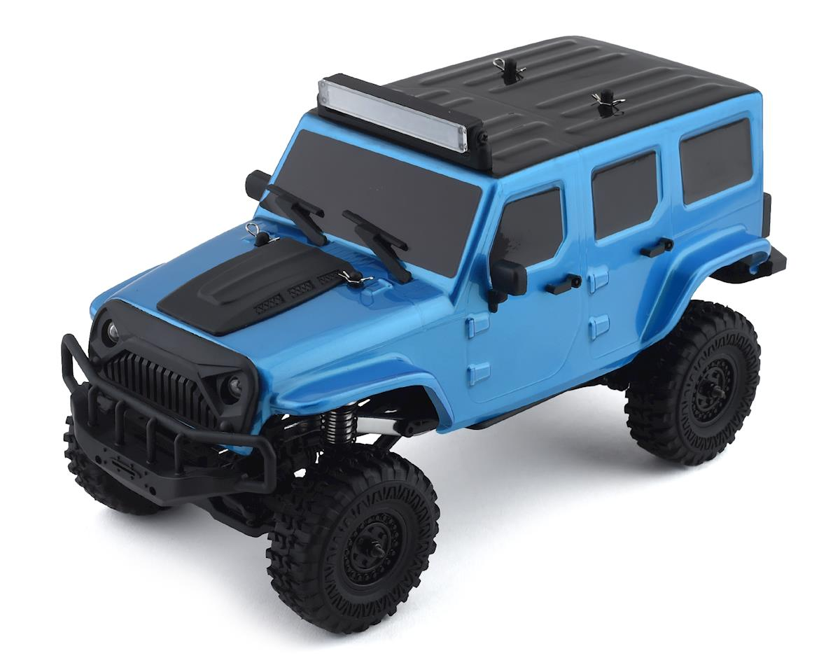 Panda Hobby Tetra X1 1/18 RTR Scale Mini Crawler w/2.4GHz Radio (Blue)