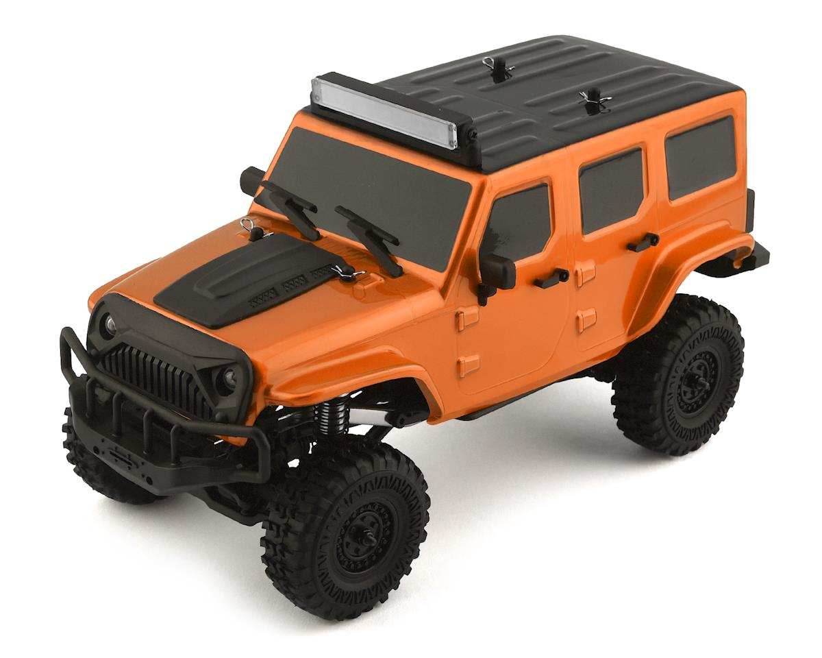 Panda Hobby Tetra X1 1/18 RTR Scale Mini Crawler w/2.4GHz Radio (Orange)