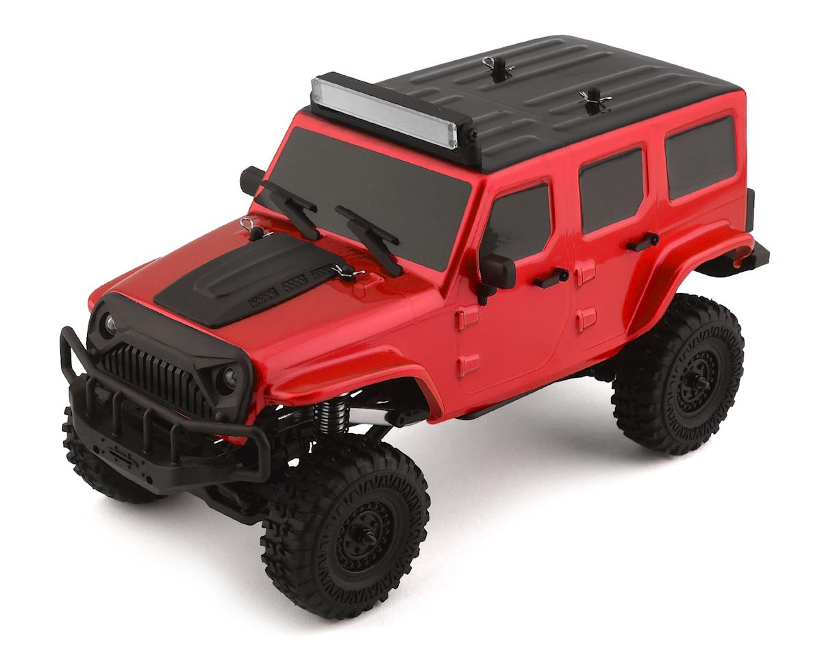 Panda Hobby Tetra X1 1/18 RTR Scale Mini Crawler w/2.4GHz Radio (Red)