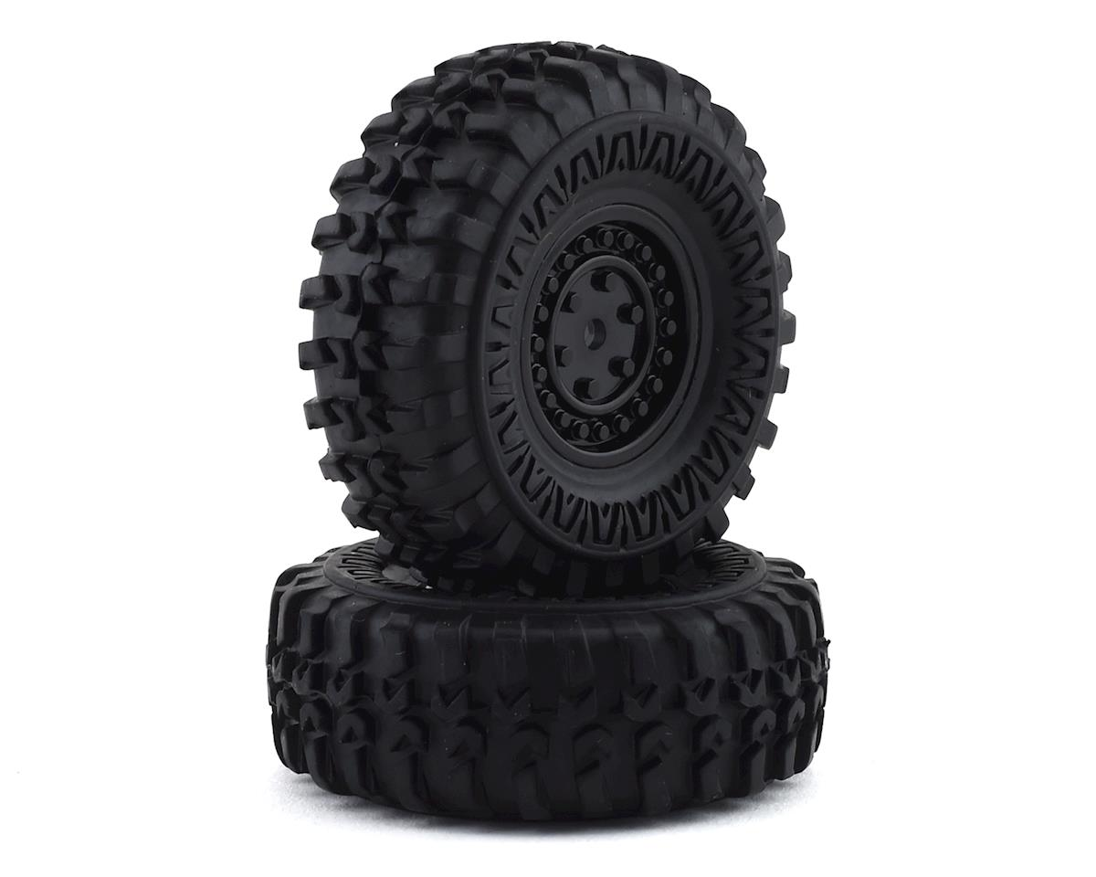 Panda Hobby Tetra X1 Premounted Wheels & Tires (2)