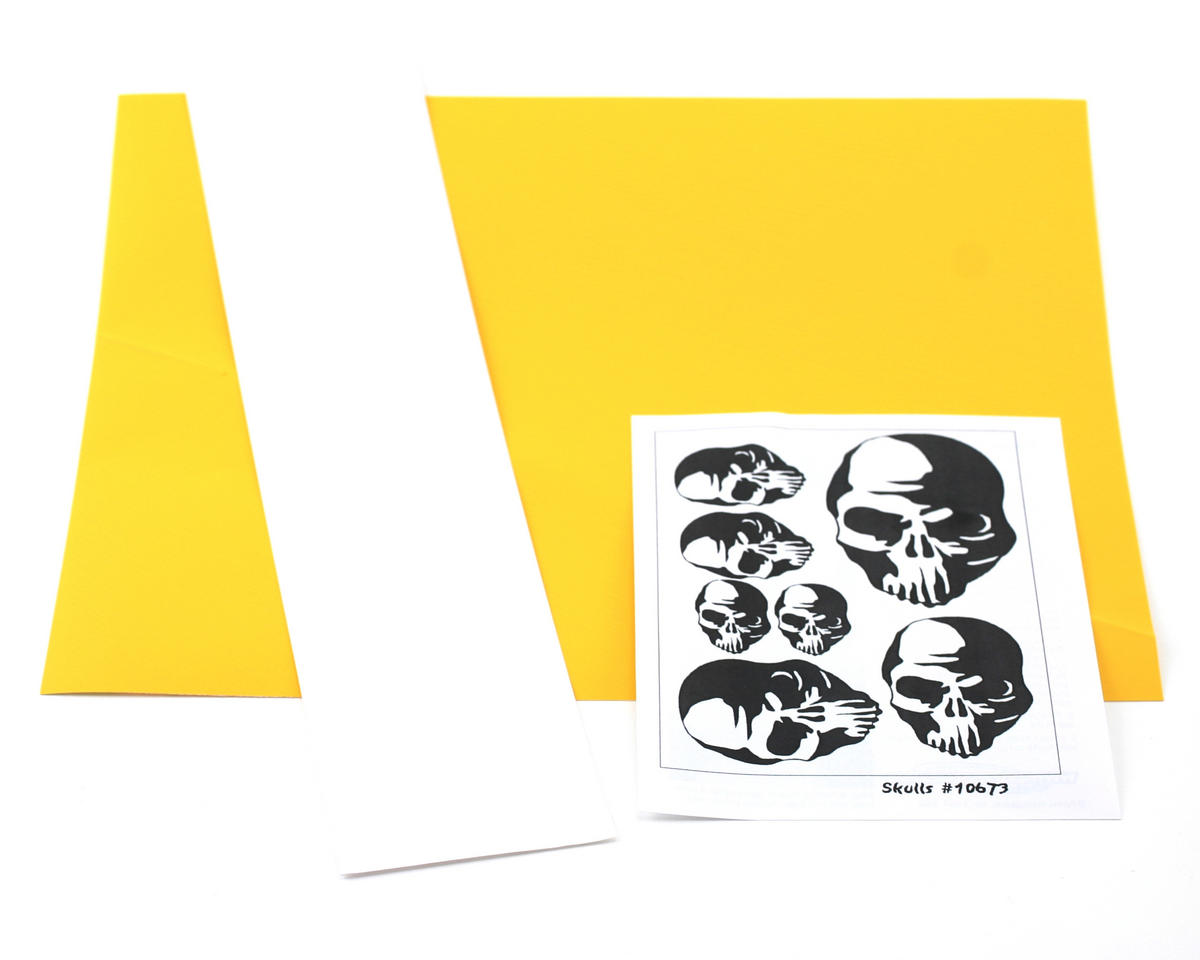 Parma PSE Pre-Cut Paint Mask, Skulls Design