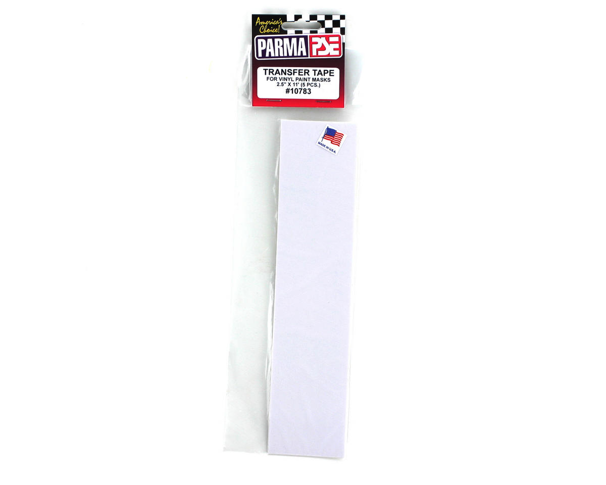 "Parma PSE Paint Mask Transfer Tape 2.5x11"" (5pcs)"