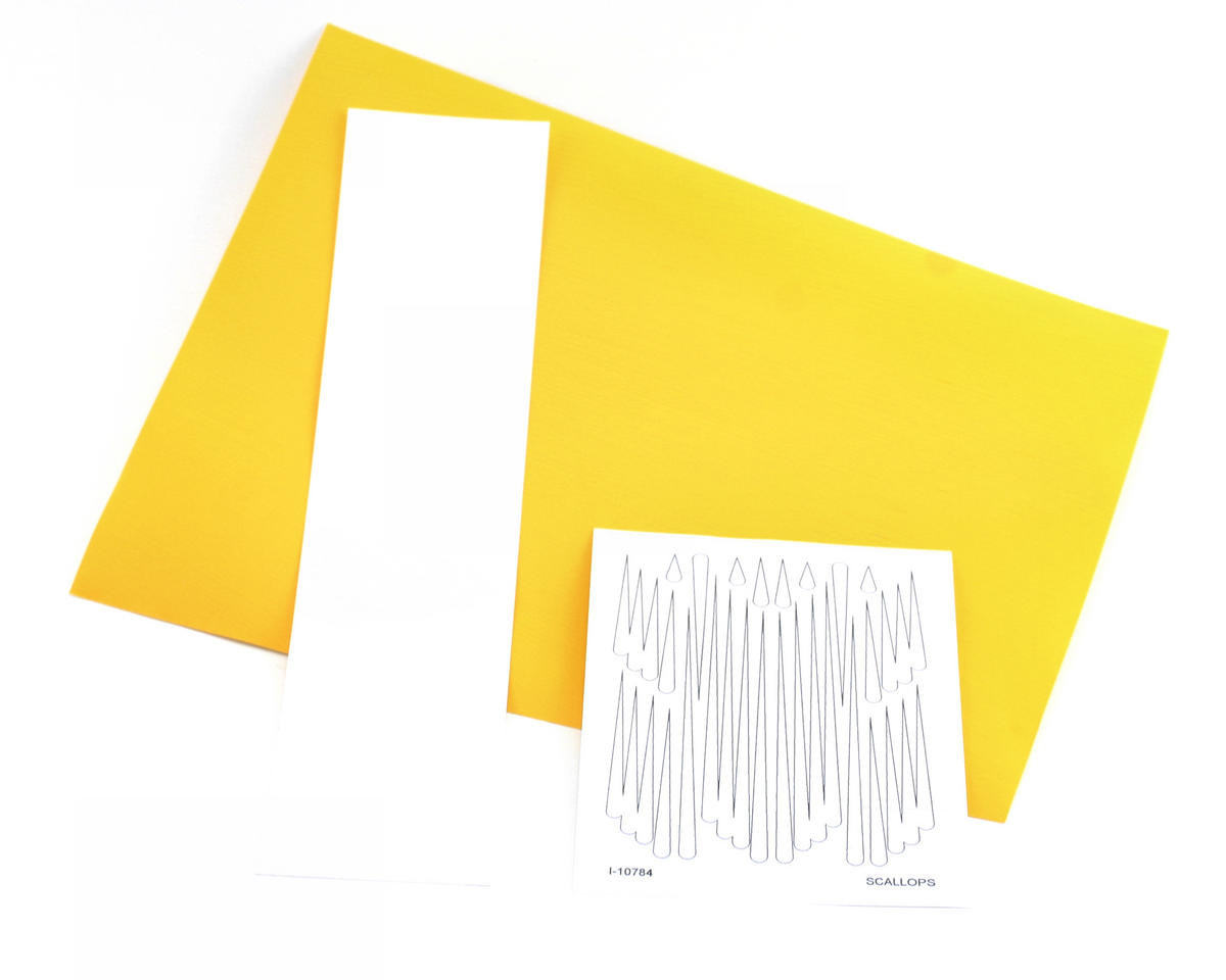 Parma PSE Pre-Cut Paint Mask, Scallops Design
