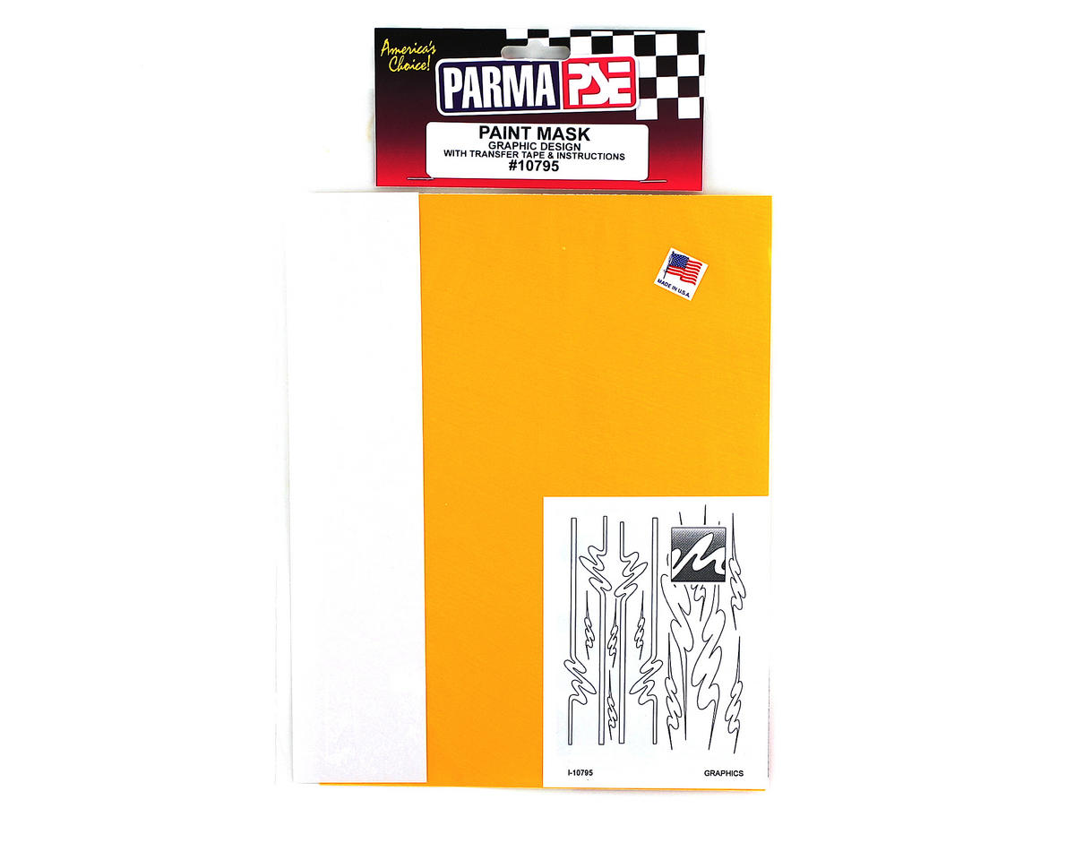 Parma PSE Pre-Cut Paint Mask, Graphics Design