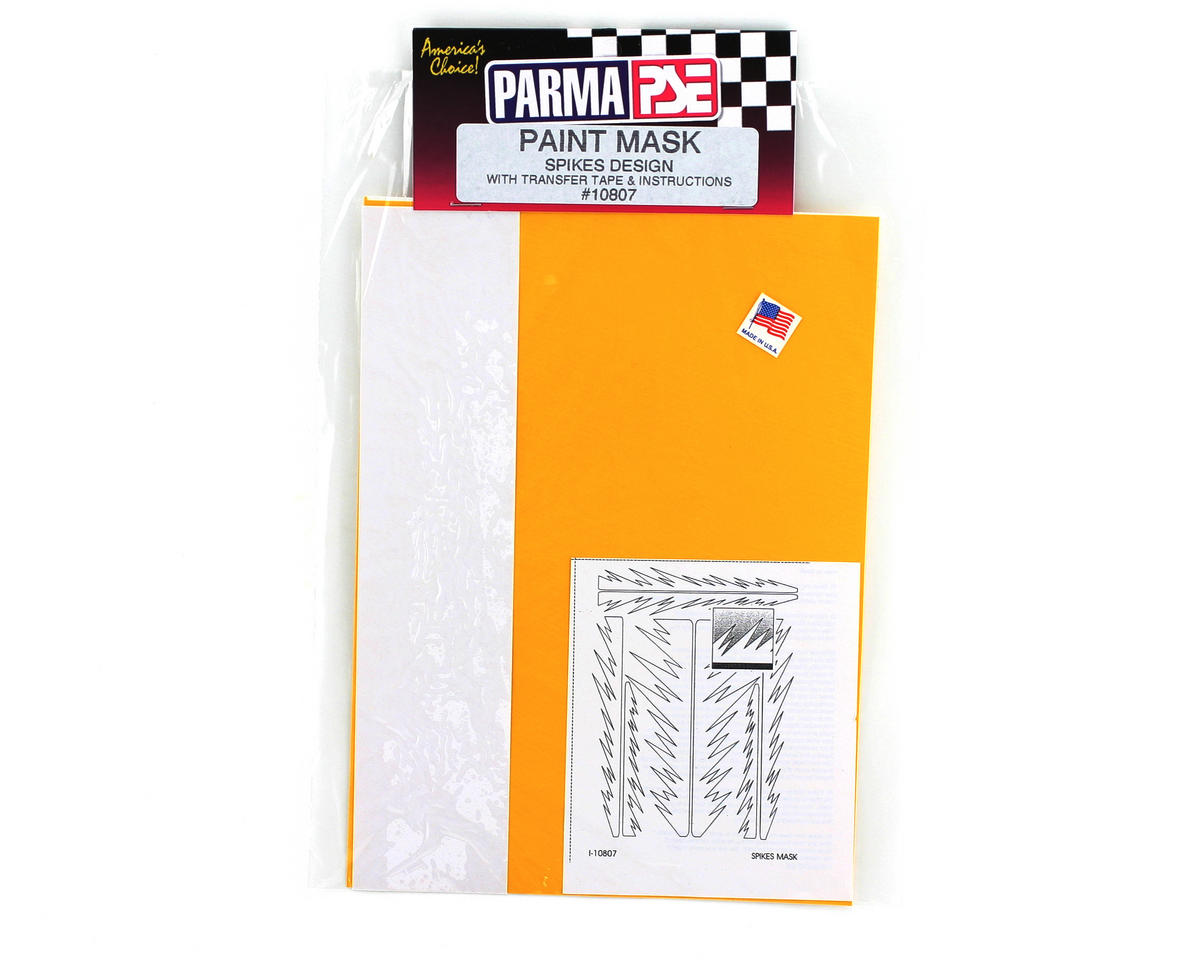 Parma PSE Pre-Cut Paint Mask, Spikes Design