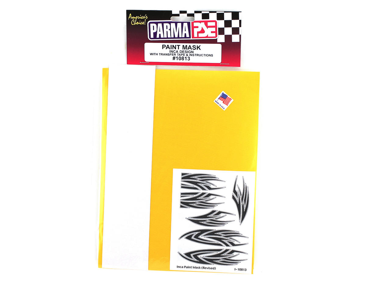 Parma PSE Pre-Cut Paint Mask, Inca Design