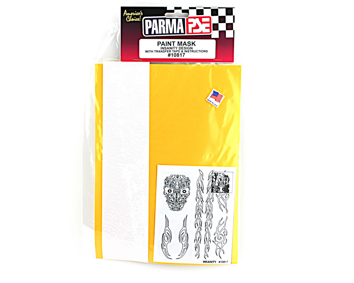 Parma PSE Pre-Cut Paint Mask, Insanity Design