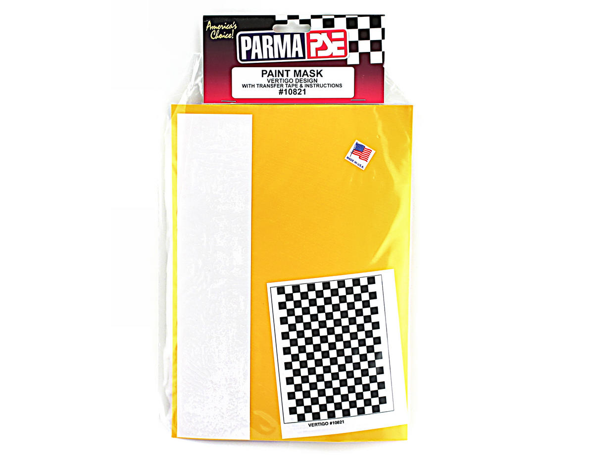 Parma PSE Pre-Cut Paint Mask, Vertigo Design